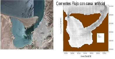 """IImpacto de un canal artificial en """"El Mogote"""""""